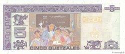 5 Quetzales GUATEMALA  1998 P.100 pr.NEUF