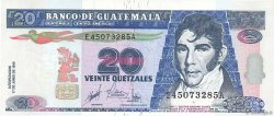20 Quetzales GUATEMALA  1999 P.102 NEUF