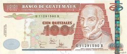 100 Quetzales GUATEMALA  2001 P.104a NEUF