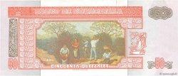 50 Quetzales GUATEMALA  1998 P.105 NEUF