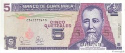 5 Quetzales GUATEMALA  2003 P.106a NEUF