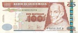 100 Quetzales GUATEMALA  2006 P.113a NEUF