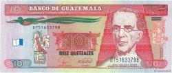 10 Quetzales GUATEMALA  2008 P.117 pr.NEUF