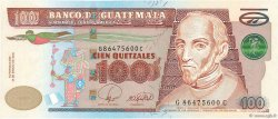 100 Quetzales GUATEMALA  2008 P.119 pr.NEUF