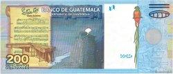 200 Quetzales GUATEMALA  2009 P.120 NEUF