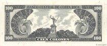 100 Colones COSTA RICA  1968 P.234a