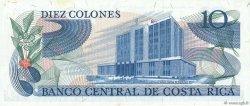 10 Colones COSTA RICA  1972 P.237a SPL