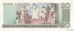 20 Colones COSTA RICA  1976 P.238b NEUF