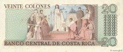 20 Colones COSTA RICA  1982 P.238c NEUF