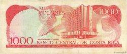 1000 Colones COSTA RICA  1992 P.259b TB