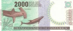 2000 Colones COSTA RICA  1997 P.265a NEUF