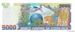 5000 Colones COSTA RICA  1996 P.266a NEUF