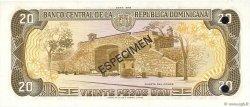 20 Pesos Oro RÉPUBLIQUE DOMINICAINE  1978 P.120s1 pr.NEUF