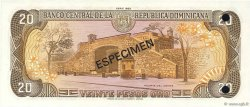 20 Pesos Oro RÉPUBLIQUE DOMINICAINE  1982 P.120s1 NEUF