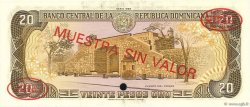 20 Pesos Oro RÉPUBLIQUE DOMINICAINE  1985 P.120s2 NEUF