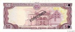 50 Pesos Oro RÉPUBLIQUE DOMINICAINE  1981 P.121s1 pr.NEUF