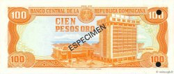 100 Pesos Oro RÉPUBLIQUE DOMINICAINE  1978 P.122s1 NEUF