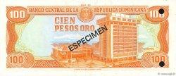 100 Pesos Oro RÉPUBLIQUE DOMINICAINE  1980 P.122s1 NEUF
