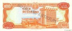 100 Pesos Oro RÉPUBLIQUE DOMINICAINE  1985 P.122s2 NEUF