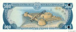 500 Pesos Oro RÉPUBLIQUE DOMINICAINE  1978 P.123s1 NEUF