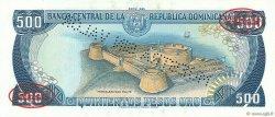 500 Pesos Oro RÉPUBLIQUE DOMINICAINE  1985 P.123s2 NEUF