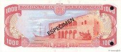 1000 Pesos Oro RÉPUBLIQUE DOMINICAINE  1981 P.124s1 NEUF