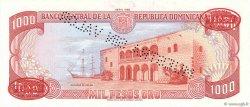 1000 Pesos Oro RÉPUBLIQUE DOMINICAINE  1985 P.124s2 NEUF