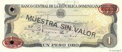 1 Peso Oro RÉPUBLIQUE DOMINICAINE  1988 P.126s3 pr.NEUF
