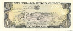 1 Peso Oro RÉPUBLIQUE DOMINICAINE  1987 P.126b SUP
