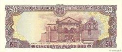 50 Pesos Oro RÉPUBLIQUE DOMINICAINE  1990 P.127b NEUF