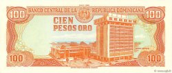 100 Pesos Oro RÉPUBLIQUE DOMINICAINE  1988 P.128a NEUF
