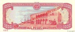 1000 Pesos Oro RÉPUBLIQUE DOMINICAINE  1988 P.130s1 NEUF