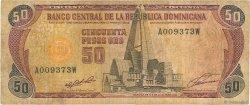 50 Pesos Oro RÉPUBLIQUE DOMINICAINE  1991 P.135a B