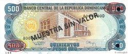 500 Pesos Oro RÉPUBLIQUE DOMINICAINE  1994 P.137s3 NEUF