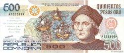500 Pesos Oro RÉPUBLIQUE DOMINICAINE  1992 P.140a NEUF