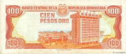 100 Pesos Oro RÉPUBLIQUE DOMINICAINE  1993 P.144a TTB
