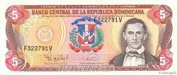 5 Pesos Oro RÉPUBLIQUE DOMINICAINE  1995 P.147a NEUF