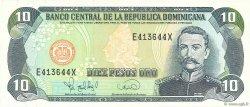10 Pesos Oro RÉPUBLIQUE DOMINICAINE  1995 P.148a NEUF