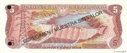 5 Pesos Oro RÉPUBLIQUE DOMINICAINE  1997 P.152s2 NEUF
