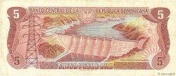 5 Pesos Oro RÉPUBLIQUE DOMINICAINE  1997 P.152b TTB