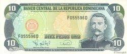 10 Pesos Oro RÉPUBLIQUE DOMINICAINE  1996 P.153a SUP