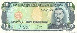 10 Pesos Oro RÉPUBLIQUE DOMINICAINE  1997 P.153a NEUF