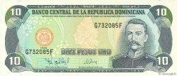 10 Pesos Oro RÉPUBLIQUE DOMINICAINE  1998 P.153a NEUF