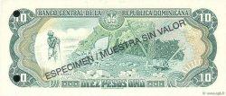 10 Pesos Oro RÉPUBLIQUE DOMINICAINE  1998 P.153s NEUF
