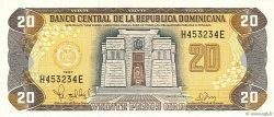 20 Pesos Oro RÉPUBLIQUE DOMINICAINE  1997 P.154a SPL