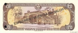 20 Pesos Oro RÉPUBLIQUE DOMINICAINE  1998 P.154s2 pr.NEUF