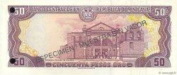 50 Pesos Oro RÉPUBLIQUE DOMINICAINE  1998 P.155s2 NEUF