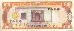 100 Pesos Oro RÉPUBLIQUE DOMINICAINE  1997 P.156a TTB