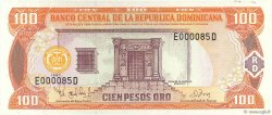 100 Pesos Oro RÉPUBLIQUE DOMINICAINE  1997 P.156a NEUF