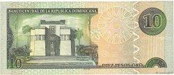 10 Pesos Oro RÉPUBLIQUE DOMINICAINE  2003 P.168c TTB